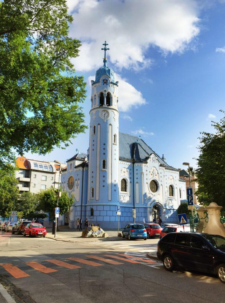 Guide to Visiting Bratislava Blue Church
