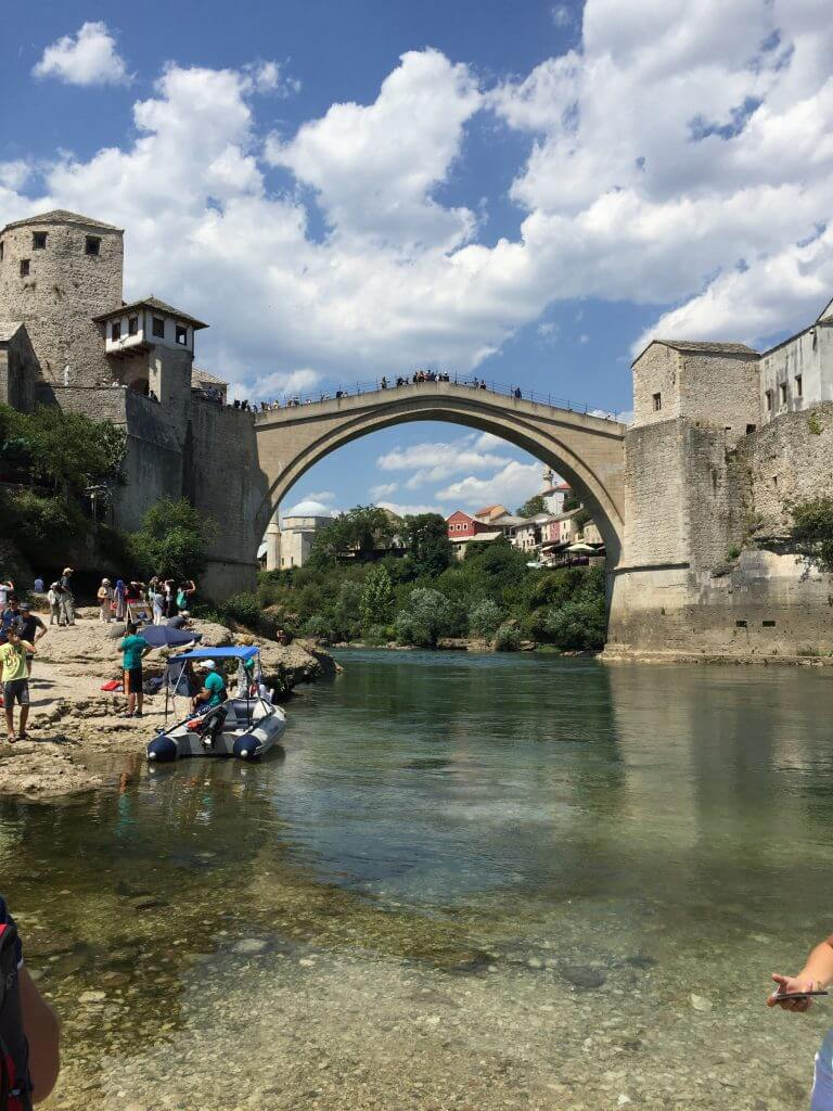 Best Place to Photograph Stari Most