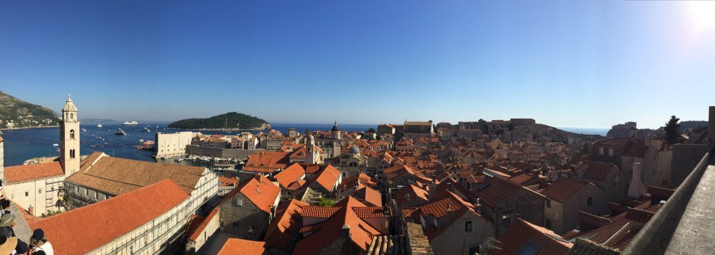 Walking Dubrovnik City Walls