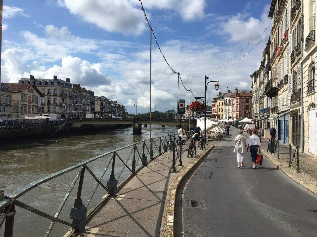 Visiting Bayonne River
