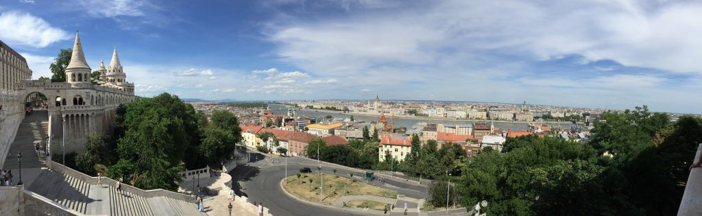 Danube River View Budapest