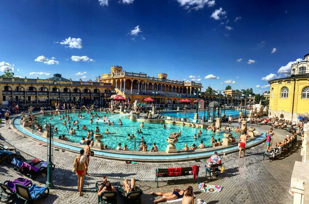 Two Days Budapest Szchenyi Thermal Baths Traveling to Budapest