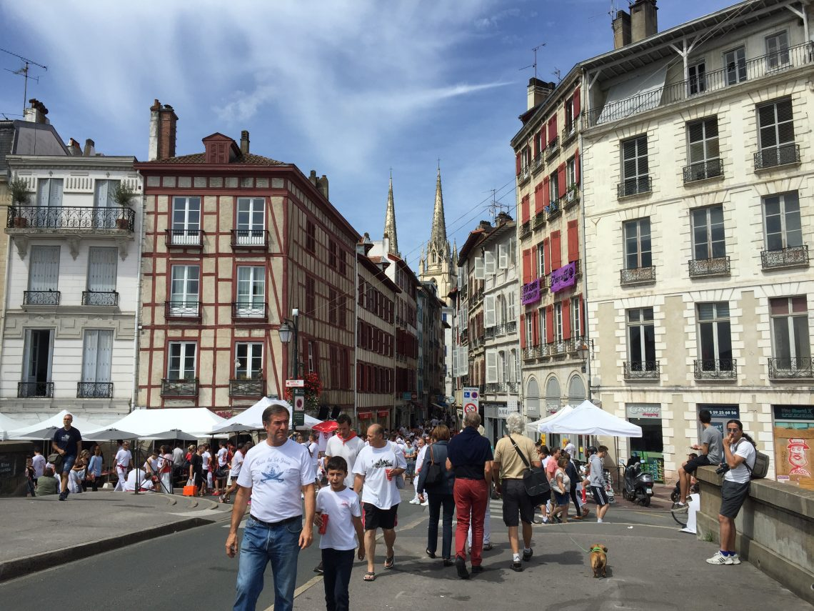 Visiting Bayonne and Biarritz Center