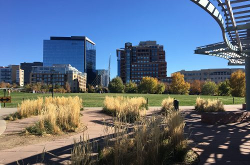Denver Confluence Park Fall