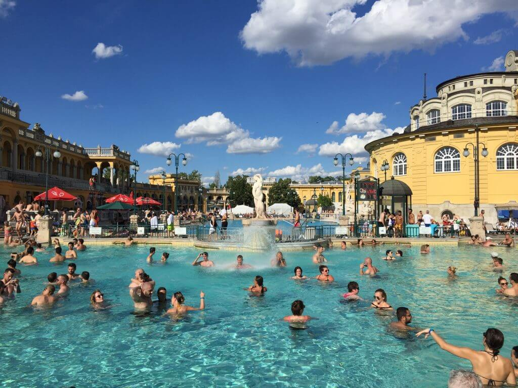 Széchenyi Baths Budapest Travel Guide