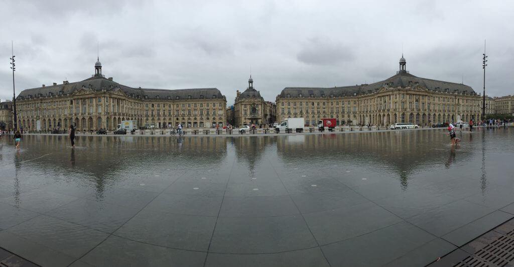 Miroir d'eau Bordeaux 2