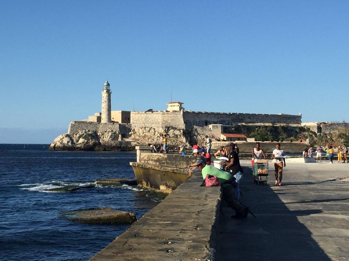 Malecon Walk Havana