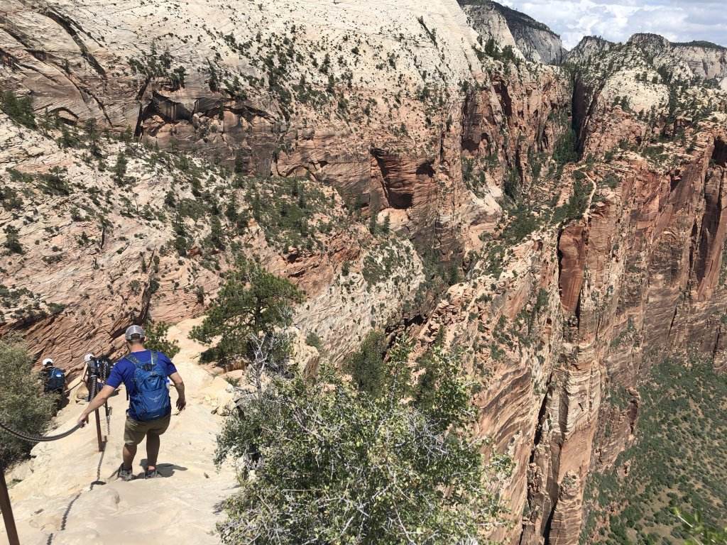 Angel's Landing Hike Zion