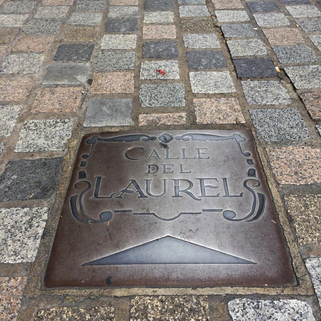 Visiting Logroño Calle Laurel