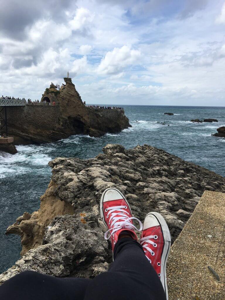 Visiting Biarritz