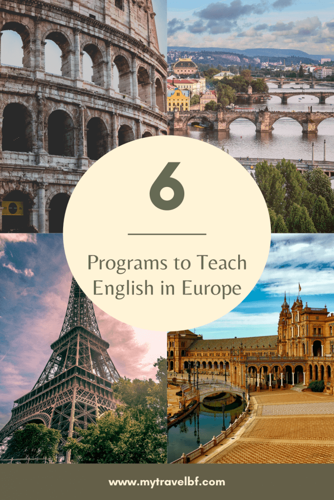 6 Programs to Teach English in Europe