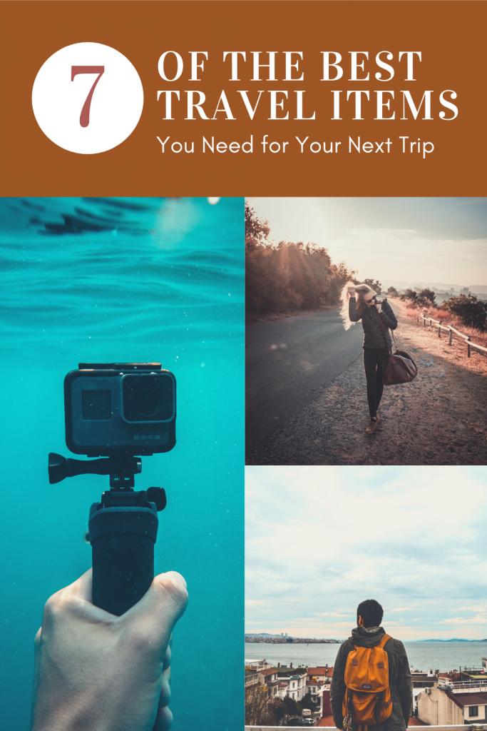 Best travel items for next trip