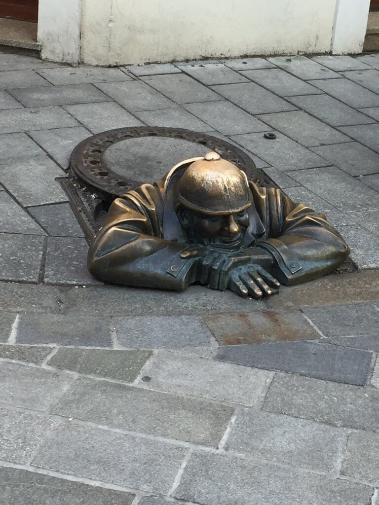 Visit Bratislava Old Town Sculptures