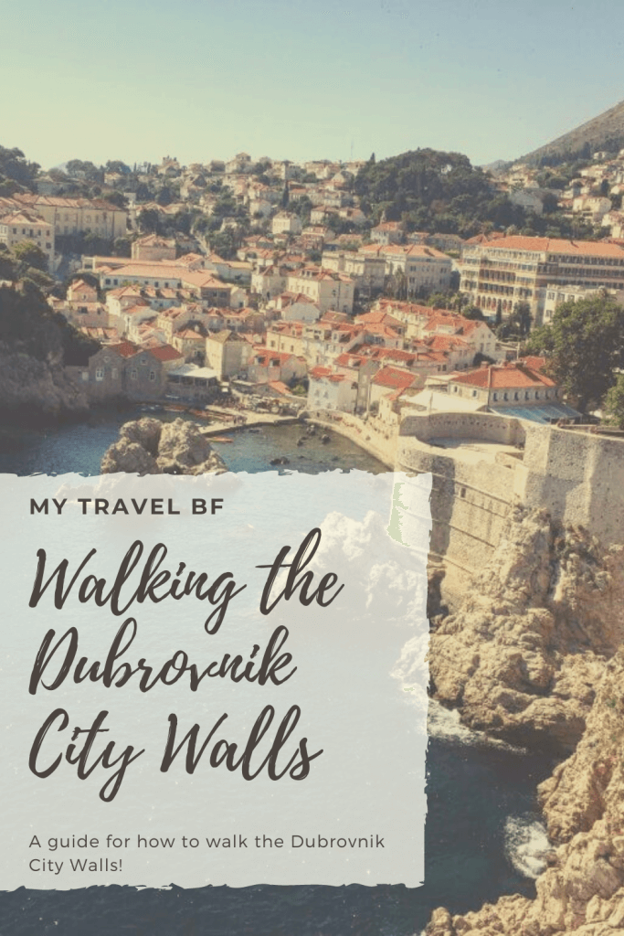 Dubrovnik CIty Wall Walk