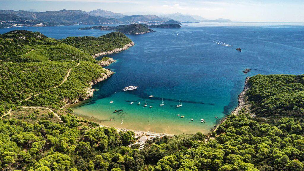 Sunj Beach by Boat Dubrovnik