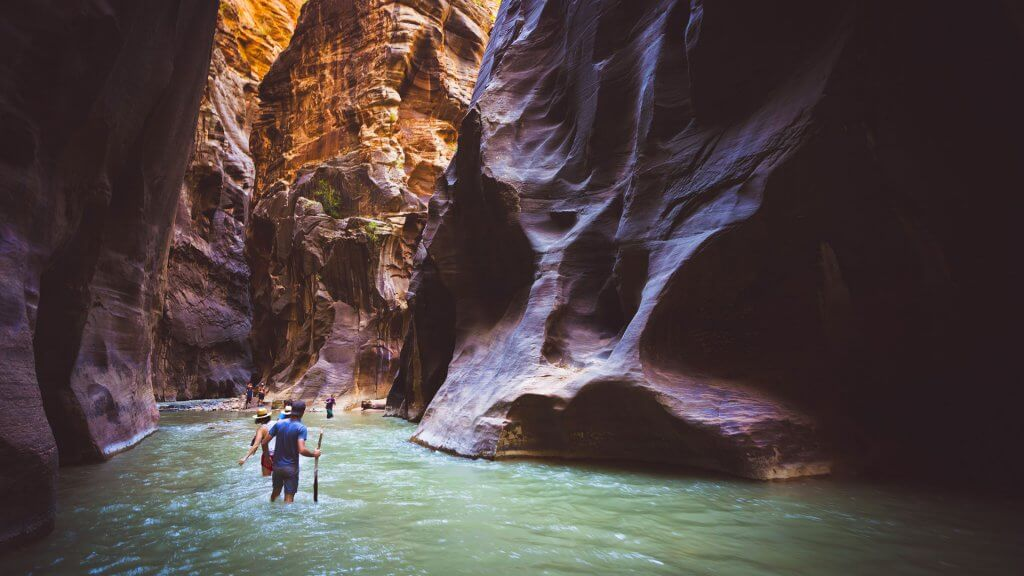 Narrows zion itinerary 2 days