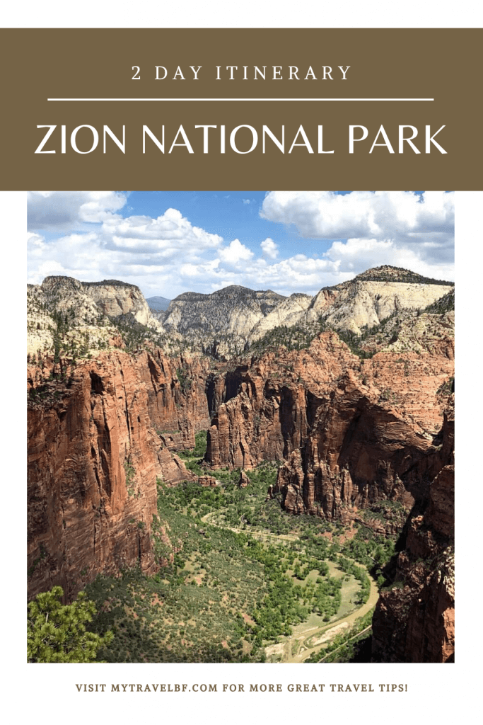 Zion National Park 2 Day Itinerary