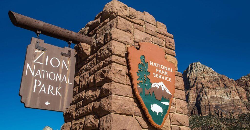 Zion Park Entrance
