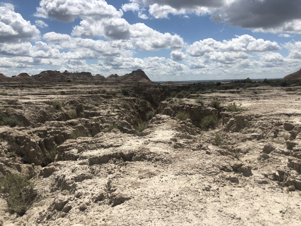 Badlands National Park hiking