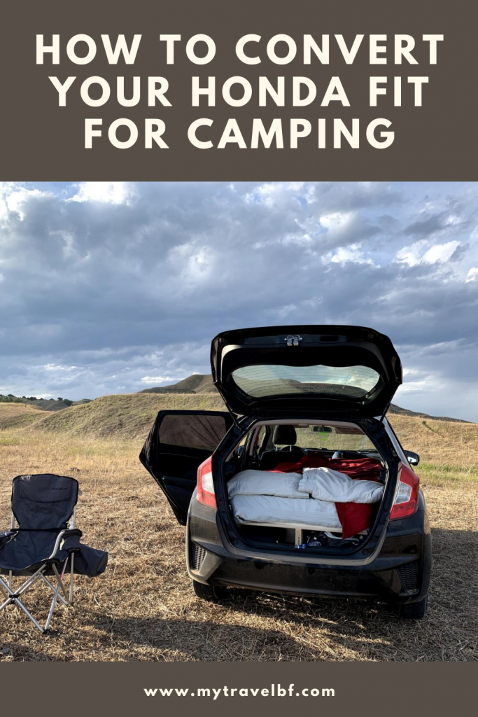 How to Convert Your Honda Fit for Camping
