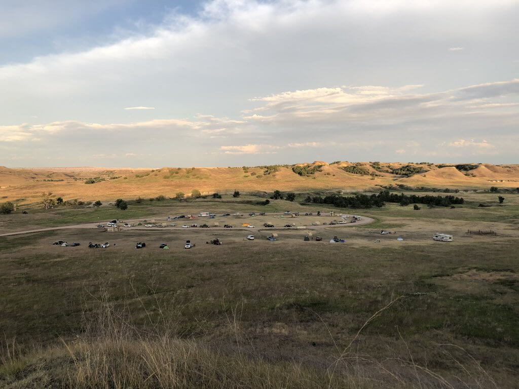 Sage Creek Campground Badlands