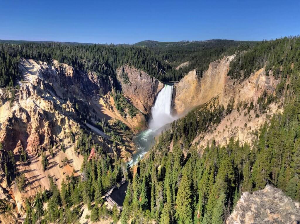 Grand Canyon of Yellowstone 3 day itinerary