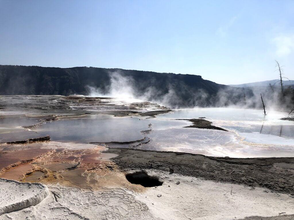 Canary Springs Yellowstone itinerary