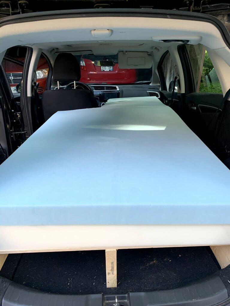 Car Camper Conversion Bed