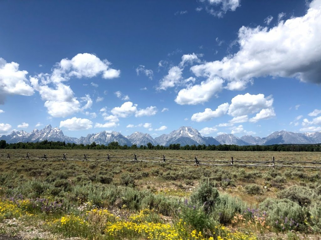 One Day Itinerary Grand Teton National Park