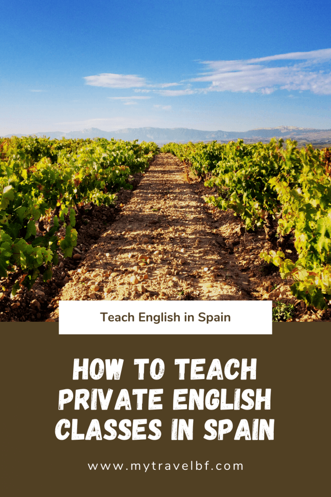 How to Teach Private English Classes in Spain
