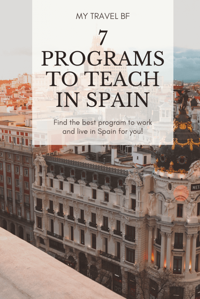 Programs to teach English in Spain