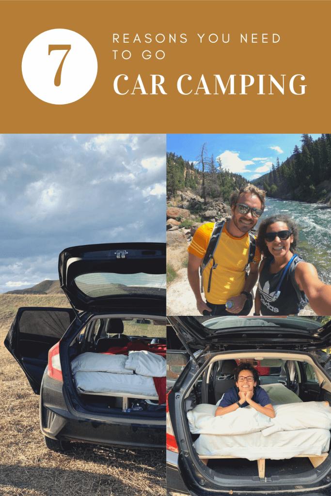 Reasons to Go Car Camping