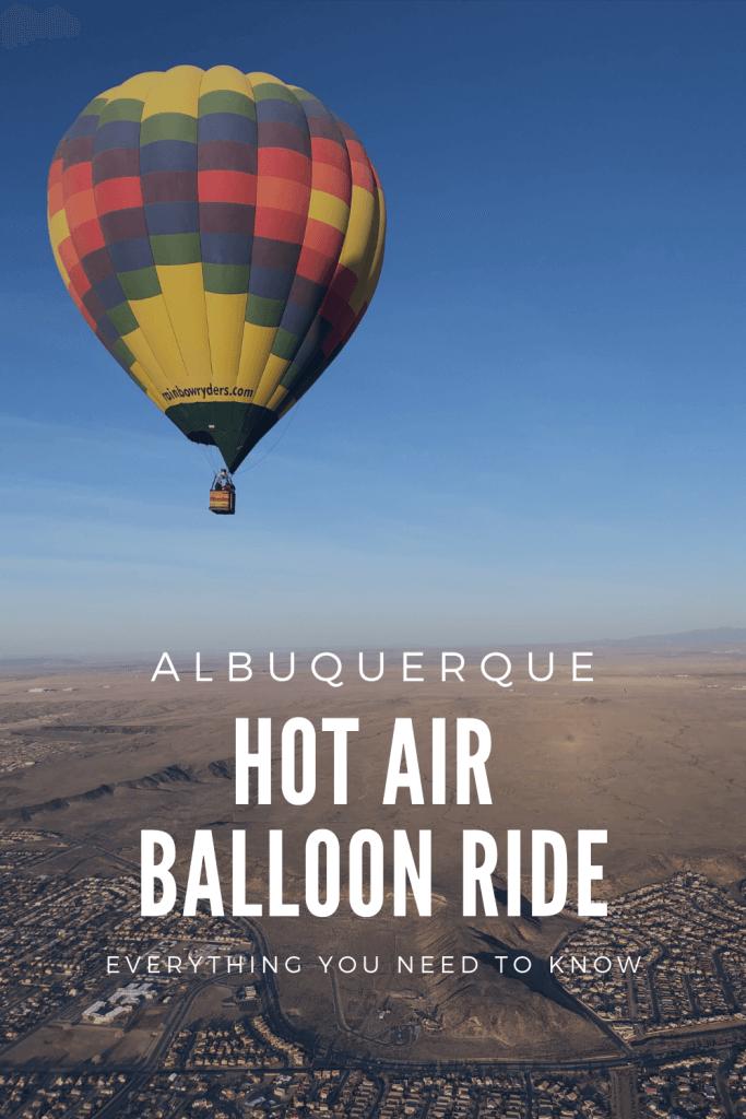Hot Air Balloon Albuquerque