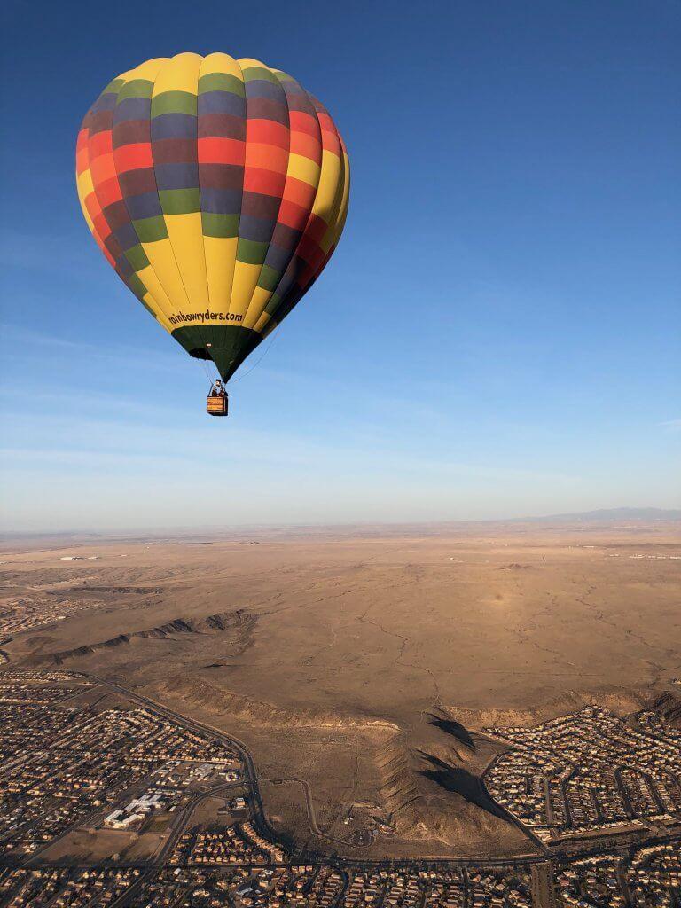 Albuquerque Balloon Ride